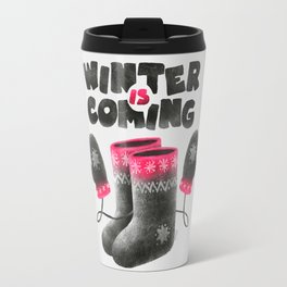 Winter Is Coming Travel Mug