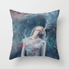 Love Will Split You Open Into Light Throw Pillow