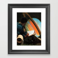 ...space Framed Art Print