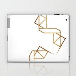 industrial golden glitters Laptop & iPad Skin