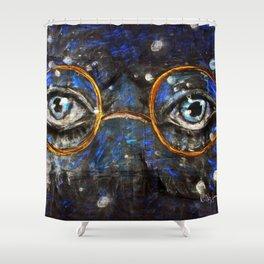 Gatsby Eyes Shower Curtain