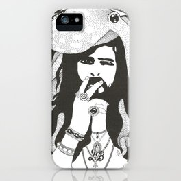 Hommage to Devendra Banhart iPhone Case