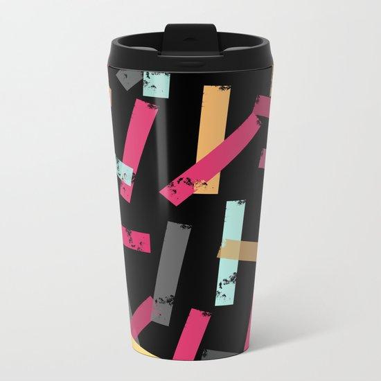 KISOMNA #3 (Black BG) Metal Travel Mug