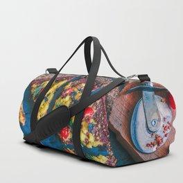 Cauliflower Vegan Pizza Duffle Bag