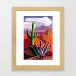 Black Canyon Desert Framed Art Print