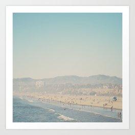 Santa Monica, California  Art Print