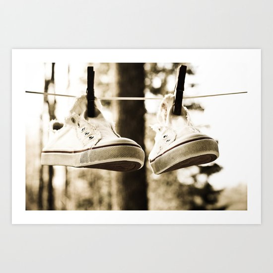 drying Art Print