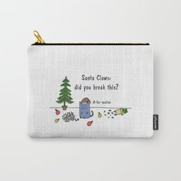 Santa Claws has to be kitten me Carry-All Pouch