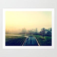 Road Home Art Print