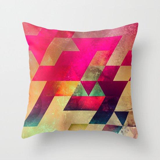 syx nyx Throw Pillow