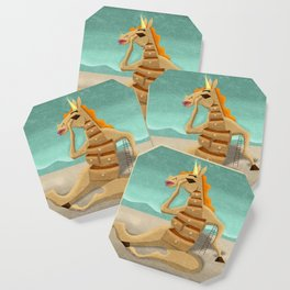 Cabinet Unicorn Coaster