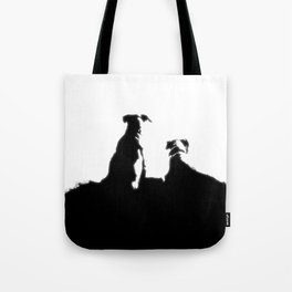 even dogs fall in love Tote Bag