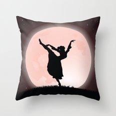 Moon Dancer Throw Pillow