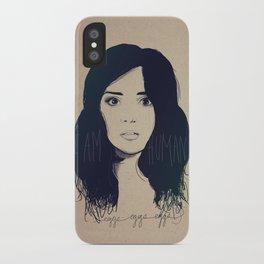 I am Human iPhone Case