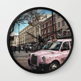 Street of London Wall Clock