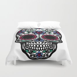 Sugar Skull 10 Duvet Cover
