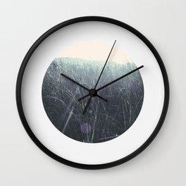 Circular Landscape Sunlight Wall Clock