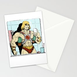 He-man selfie Stationery Cards