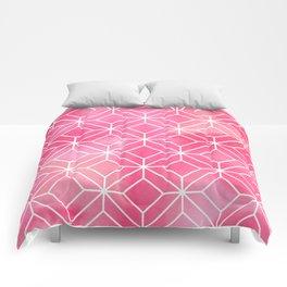 Geometric Crystals: Rose Petal Comforters
