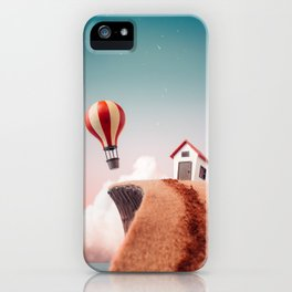 Nowhere to Go But Up iPhone Case
