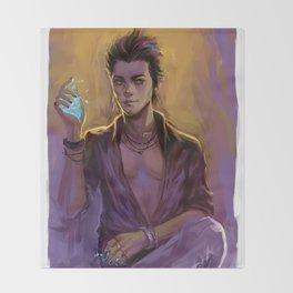 Magnus Bane Throw Blanket