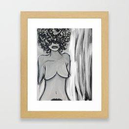 They want silence Framed Art Print