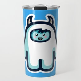 Kawaii Cute Abominable Snowman Yeti Travel Mug
