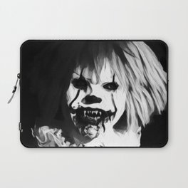 Bad Hair Day -  Black and White Laptop Sleeve