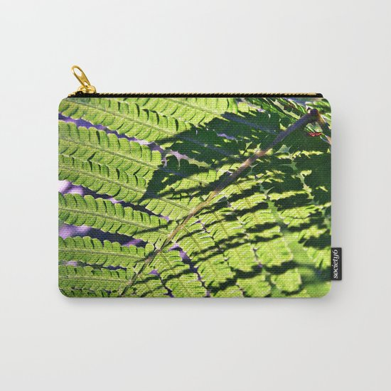 Summer Fern in Sunny Dreams Carry-All Pouch