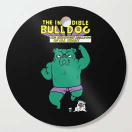 The Incredible English Bulldog Cutting Board