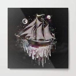 dreamlike sailing ship Metal Print