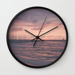 sea Wall Clock