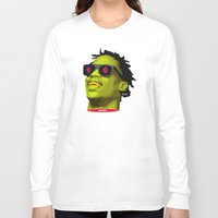 lv Long Sleeve T-shirts featuring LV FLVME DROP$ 1.o by kamikvze
