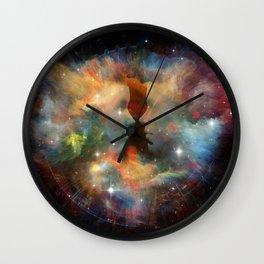 mood of the beginning Wall Clock