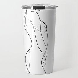 abstract nude 6 Travel Mug
