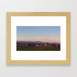 SunKiss Framed Art Print