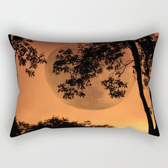 Orange Evening - JUSTART © Rectangular Pillow