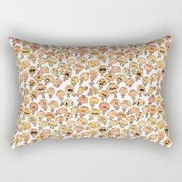 A daily smile Rectangular Pillow