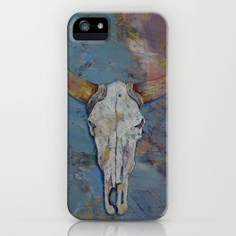 Steer Skull iPhone Case