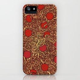 Spaghetti mess iPhone Case