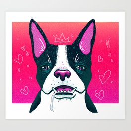 Mildred Art Print