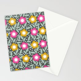 Summer Flower Garden Stationery Cards