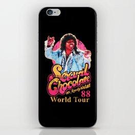 RANDY WATSON - SEXUAL CHOCOLATE WORLD TOUR 88 iPhone Skin