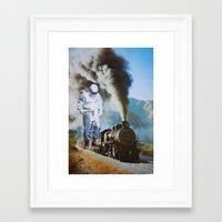 iron man Framed Art Prints featuring Iron Man by John Turck