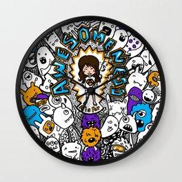 Awesomeness Wall Clock