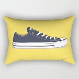 All Star Blue-yellow Rectangular Pillow
