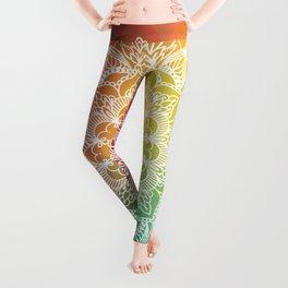 Celled Spectrum Mandala Leggings