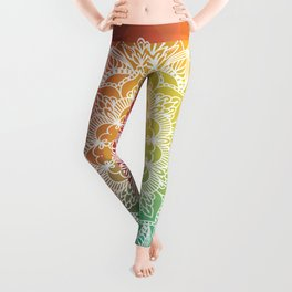 Celled Spectrum Mandala Leggings