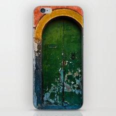 Magic Green Door in Sicily  iPhone & iPod Skin