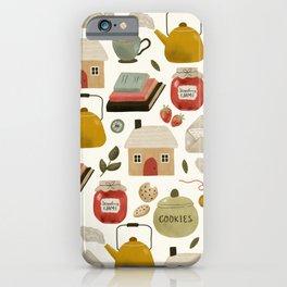 Summer Cottage Days iPhone Case